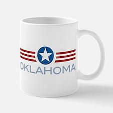 Star Stripes Oklahoma Mug