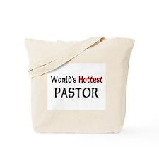 World's Hottest Pastor Tote Bag