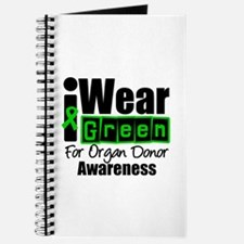 I Wear Green ODA v3 Journal