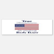 True Freedom Vote Bob Barr Bumper Bumper Bumper Sticker