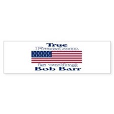 True Freedom Vote Bob Barr Bumper Bumper Sticker