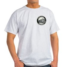 PRR GG1 4800-FRONT Ash Grey T-Shirt