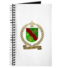 DELARUE Family Crest Journal
