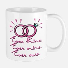 SATC Mr Big Wedding Rings Mug