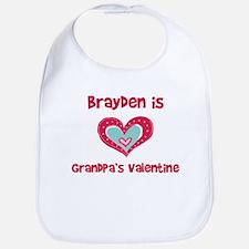 Brayden Is Grandpa's Valentin Bib