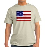 Stars and stripes Ash Grey T-Shirt
