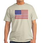 Stars and stripes Ash Grey T-Shirt