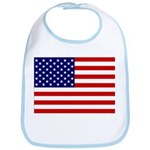 Stars and stripes Bib