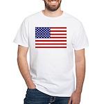 Stars and stripes White T-Shirt