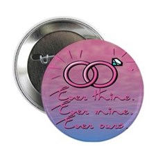 "SATC Mr Big Wedding Rings 2.25"" Button"