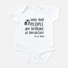 Wilde Brilliant at Breakfast Infant Bodysuit