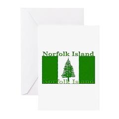 Norfolk Island Greeting Cards (Pk of 10)