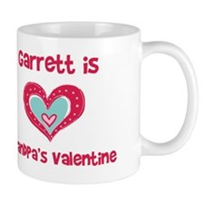 Garrett Is Grandpa's Valentin Mug