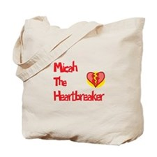 Micah the Heartbreaker Tote Bag