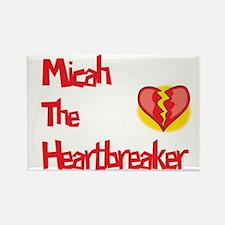 Micah the Heartbreaker Rectangle Magnet