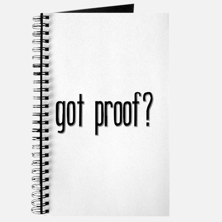 Got Proof? Journal