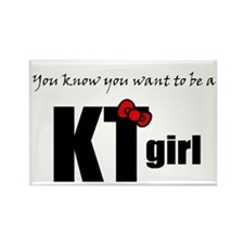 Funny Girls Rectangle Magnet