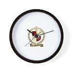 BLIN Family Crest Wall Clock