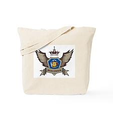 Wisconsin Emblem Tote Bag