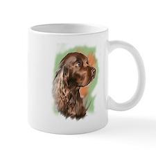 field spaniel portrait Mug
