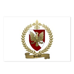 BLONDEL Family Crest Postcards (Package of 8)