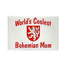Coolest Bohemian Mom Rectangle Magnet
