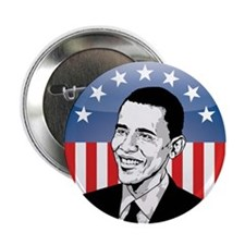 """Obama 08 2.25"""" Button (100 pack)"""