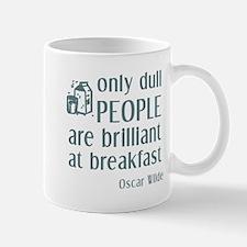 Wilde Brilliant at Breakfast Mug