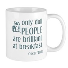 Wilde Brilliant at Breakfast Mug