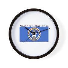 Northern Marianas Wall Clock