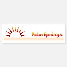 Palm Springs Bumper Bumper Bumper Sticker