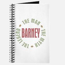 Barney Man Myth Legend Journal