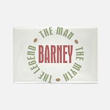 Barney Man Myth Legend Rectangle Magnet