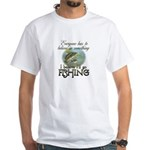 Believe in Fishing White T-Shirt