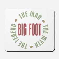 Big Foot Man Myth Legend Mousepad