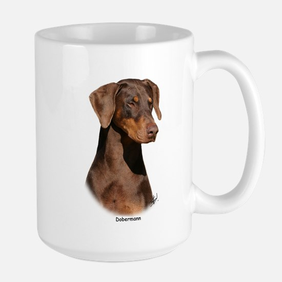Dobermann 9Y381D-162 Large Mug