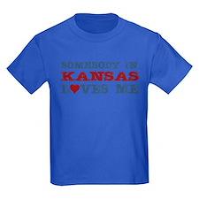 Somebody in Kansas Loves Me T