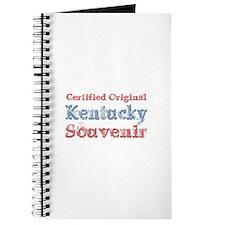 Certified Kentucky Souvenir Journal