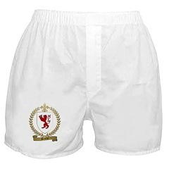 BOILEAU Family Crest Boxer Shorts