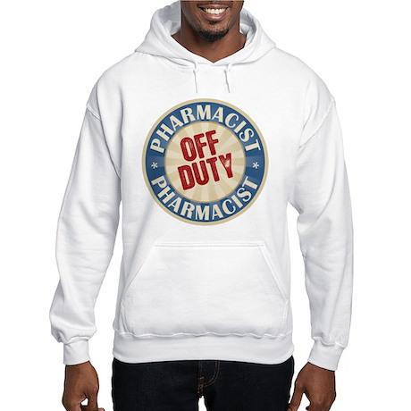 Off Duty Pharmacist Hooded Sweatshirt