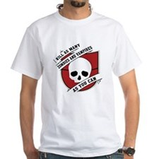 Kill As Many Zombies And Vamp Shirt
