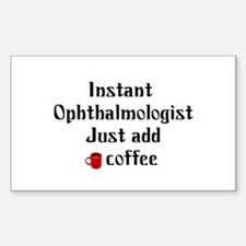 Ophthalmologist Rectangle Sticker 10 pk)