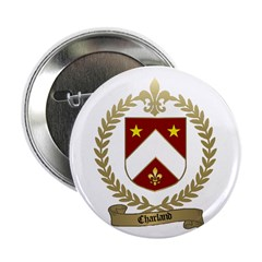 "CHARLAND Family Crest 2.25"" Button (10 pack)"
