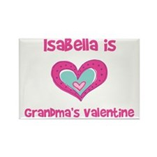 Isabella is Grandma's Valenti Rectangle Magnet
