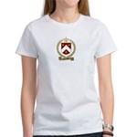 CHARLAND Family Crest Women's T-Shirt