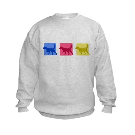 Color Row Llewellin Setter Kids Sweatshirt