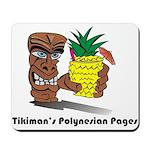 Polynesian Tikiman Mousepad
