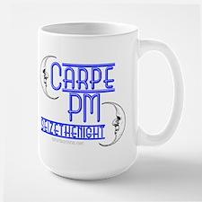 Carpe PM -Seize the Night Large Mug