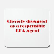 DEA Agent Mousepad