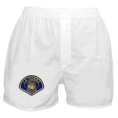 La Habra Police Boxer Shorts